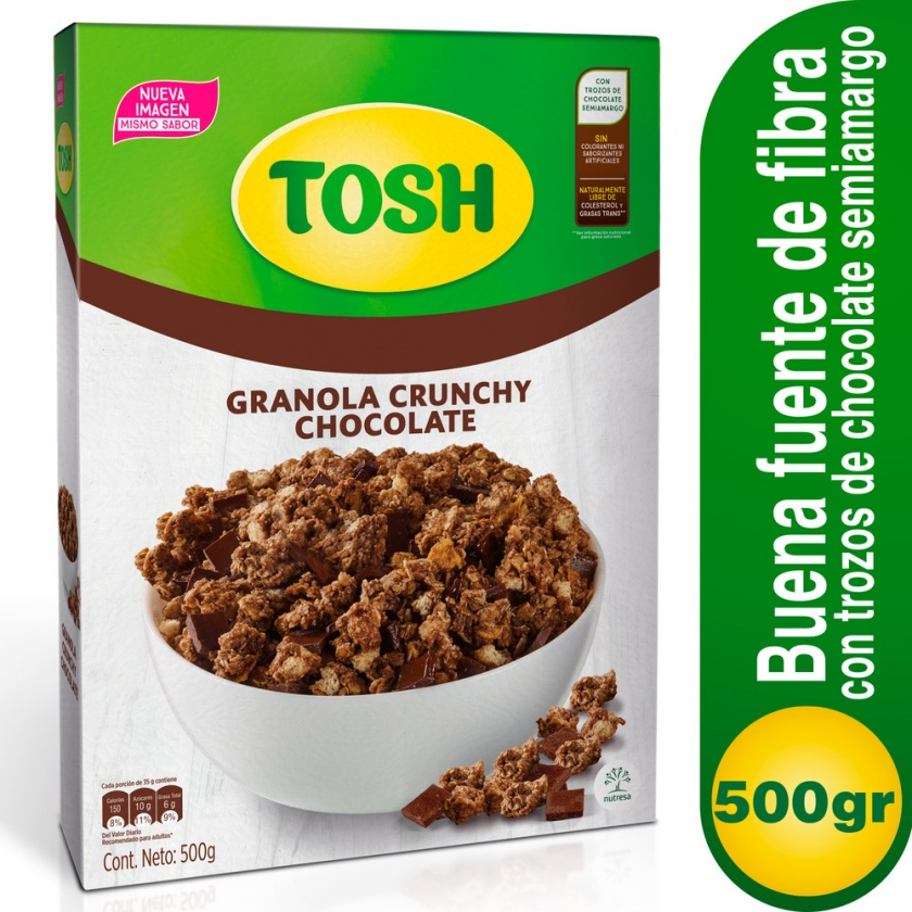 Cereal Chocolate Tosh x 500g