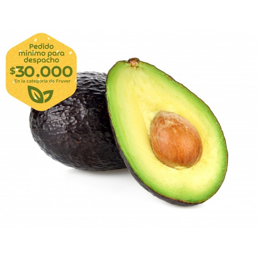 Aguacate hass x 600g (2-3 und aprox.)