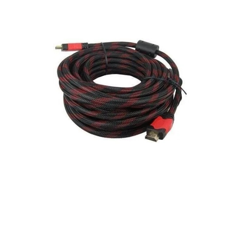 Cable Hdmi 10 Mts Enmallado Doble Filtro