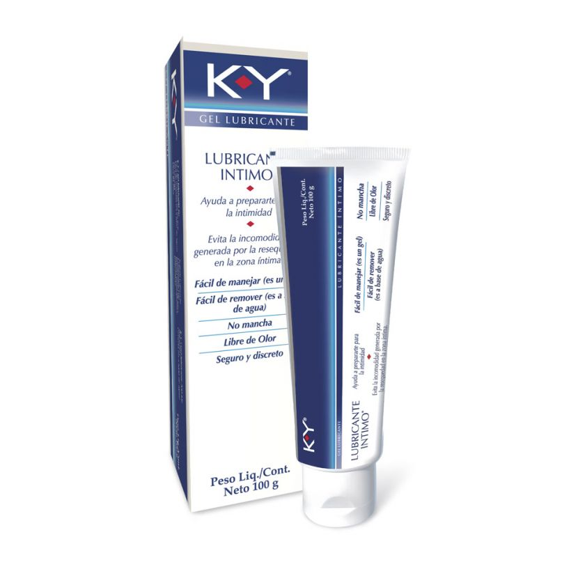 Gel Lubricante Intimo KY x 100g