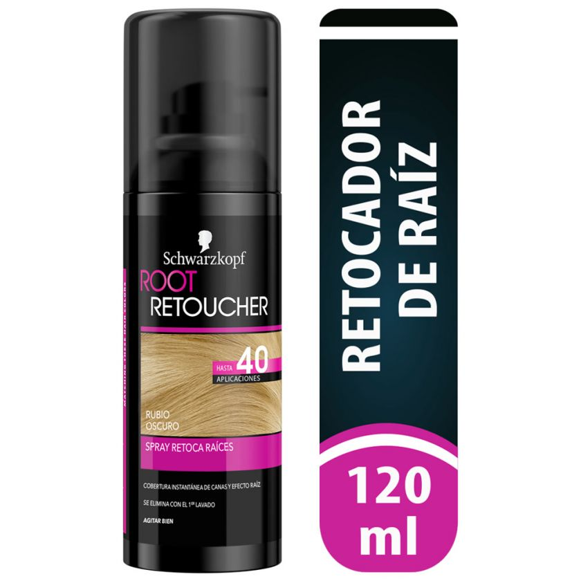 Retocador Root Retoucher Rubio Oscuro Spray Schwarzkopf x 120 ml