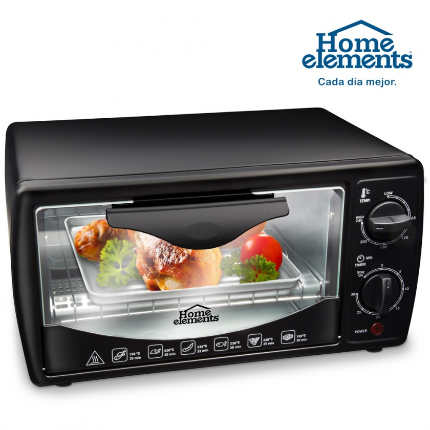 Horno tostador 9 litros Home Elements HEGT09