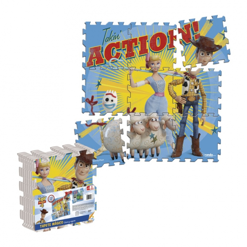 Tapete Magico Toy Story Action Ronda